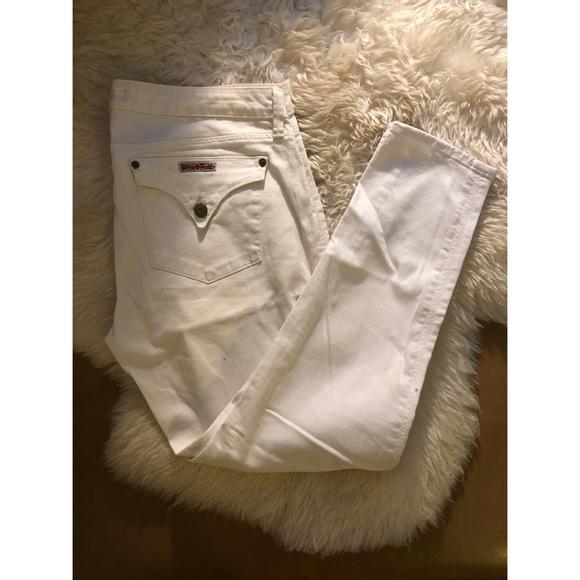 Hudson Jeans Denim - Hudson white skinny jeans